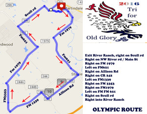 TFOG Olympic Bike Route 2016